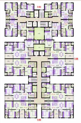 Vijay Park Avenue Cluster Plan