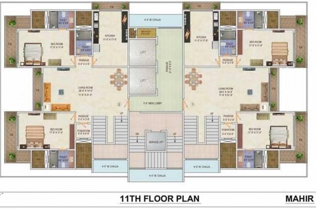 AP Mahir Cluster Plan