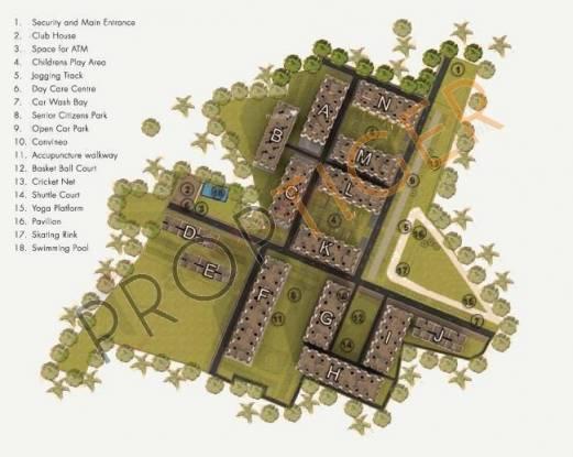 Marg Utsav Site Plan