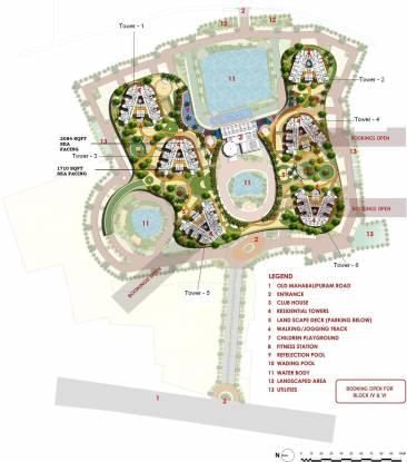 TVH Ouranya Bay Layout Plan
