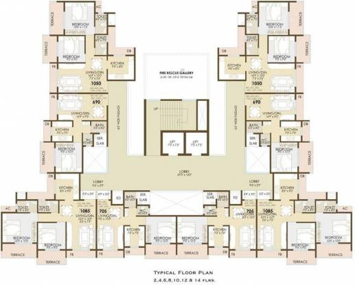 Shankheshwar Exotica Cluster Plan