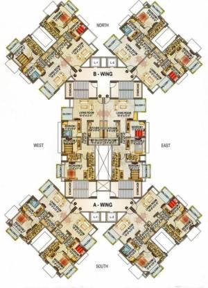Baria Bldg No 3 Rose Cluster Plan