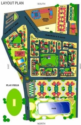 Baria Bldg No 3 Rose Layout Plan