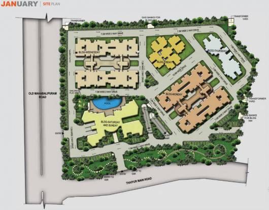 Akshaya January Site Plan