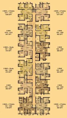 Marg Pushpadruma Cluster Plan