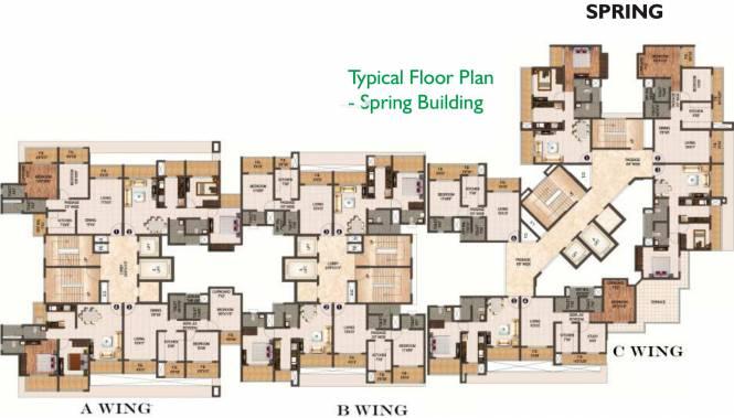Sanghvi Ecocity Cluster Plan