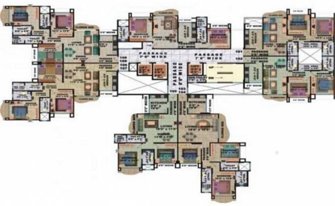 Neelkanth Enclave Cluster Plan