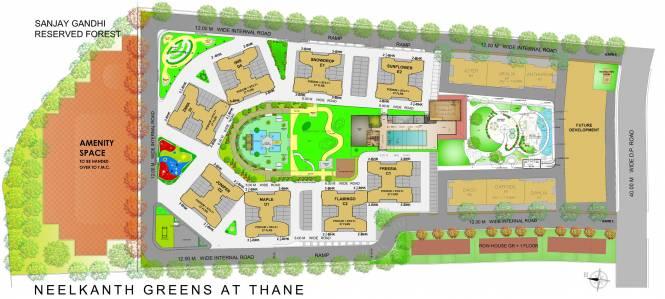 Neelkanth Greens Layout Plan