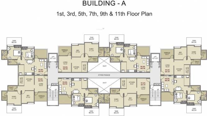 Pristine City Cluster Plan