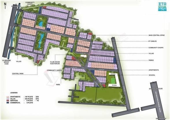 ETA Wing Haven Gardens Layout Plan