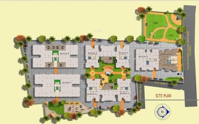 Doshi Nakshatra Site Plan