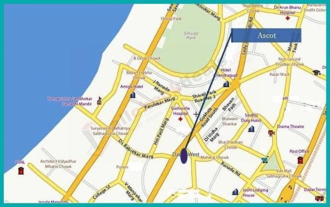 Unitech Ascot Location Plan