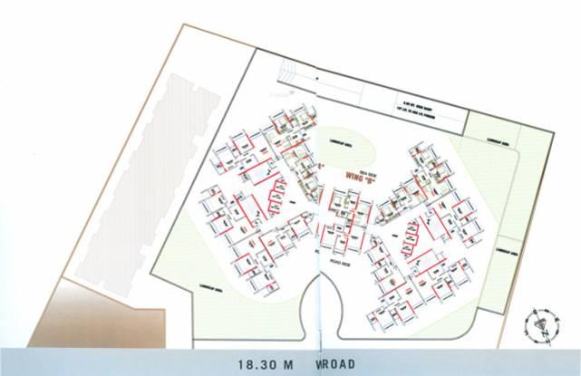 Evershine Meadows Layout Plan