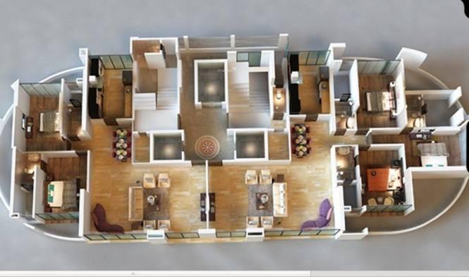 Darshan Pride Cluster Plan