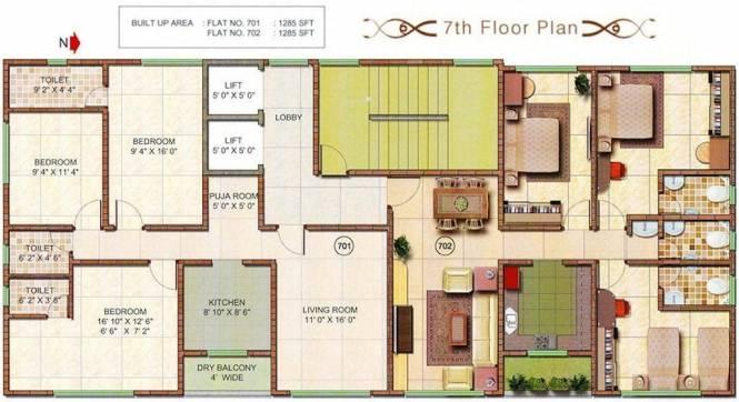 Kiron Athashri Cluster Plan