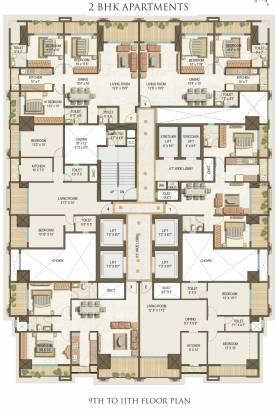 Shreepati Castle Cluster Plan