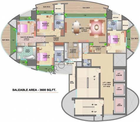 Lokhandwala Victoria Cluster Plan