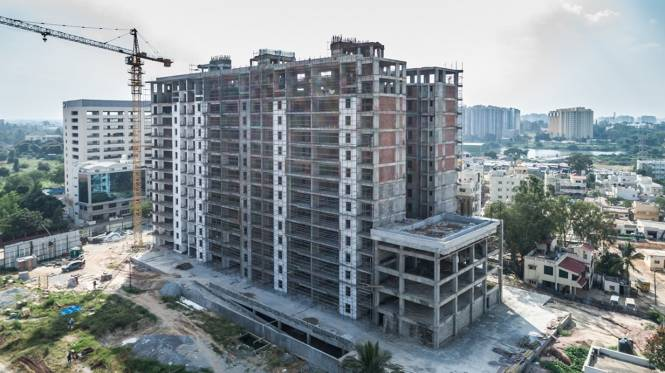 SJR Vogue Residences Construction Status