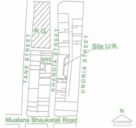 Shining Gulmohar Terrace Location Plan