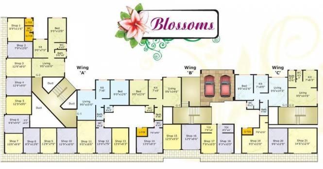 Swastik Swastik Blossom Cluster Plan