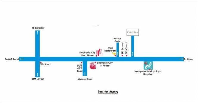 Daadys Gaarden Location Plan