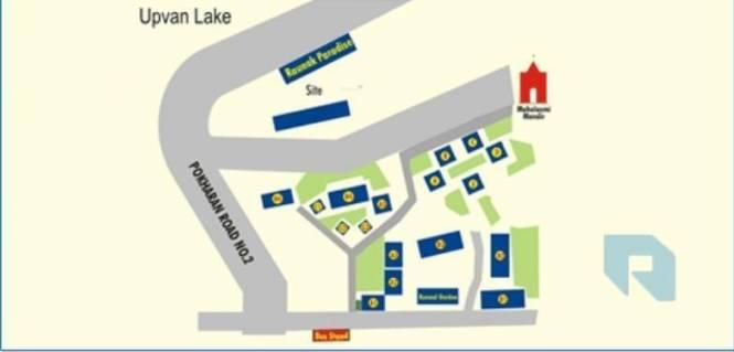 Raunak Paradise Layout Plan