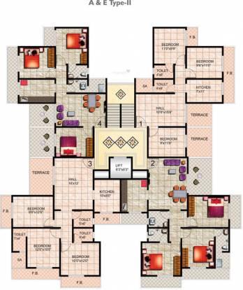 Mohan Suburbia Cluster Plan