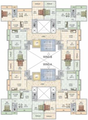 Nath Elite Homes Cluster Plan