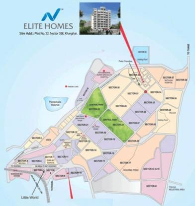 Nath Elite Homes Location Plan
