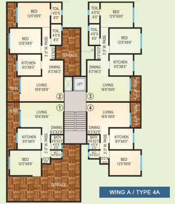 Agarwal Vrindavan Township Cluster Plan