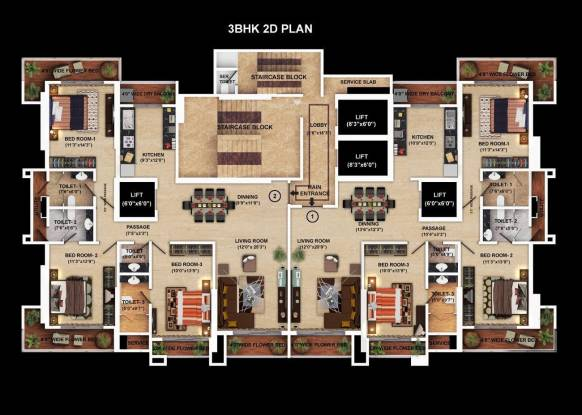 Transcon Flora Heights Cluster Plan