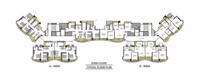 Adhiraj Cyprees Aqua Cluster Plan