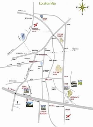 Columbia Fortune Estates Location Plan