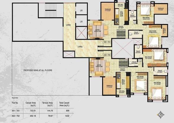 Yugal Drashila Cluster Plan