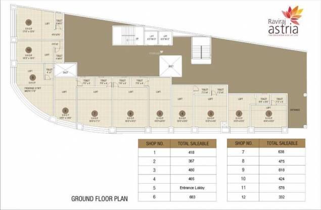 Raviraj Astria Cluster Plan