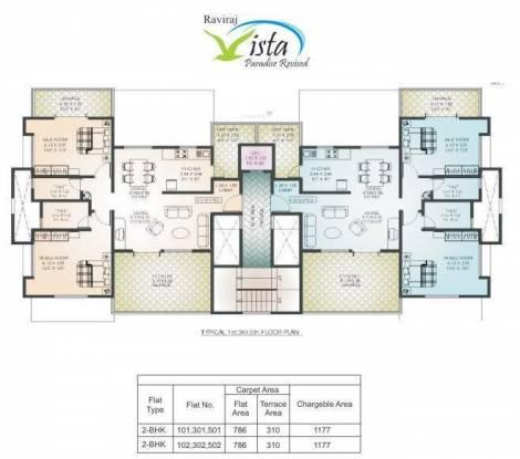 Raviraj Raviraj Vista Cluster Plan
