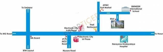 Mahaghar Elixir Location Plan