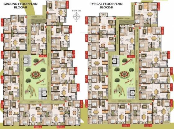 Mahaghar Sai Srinivasa Enclave Cluster Plan