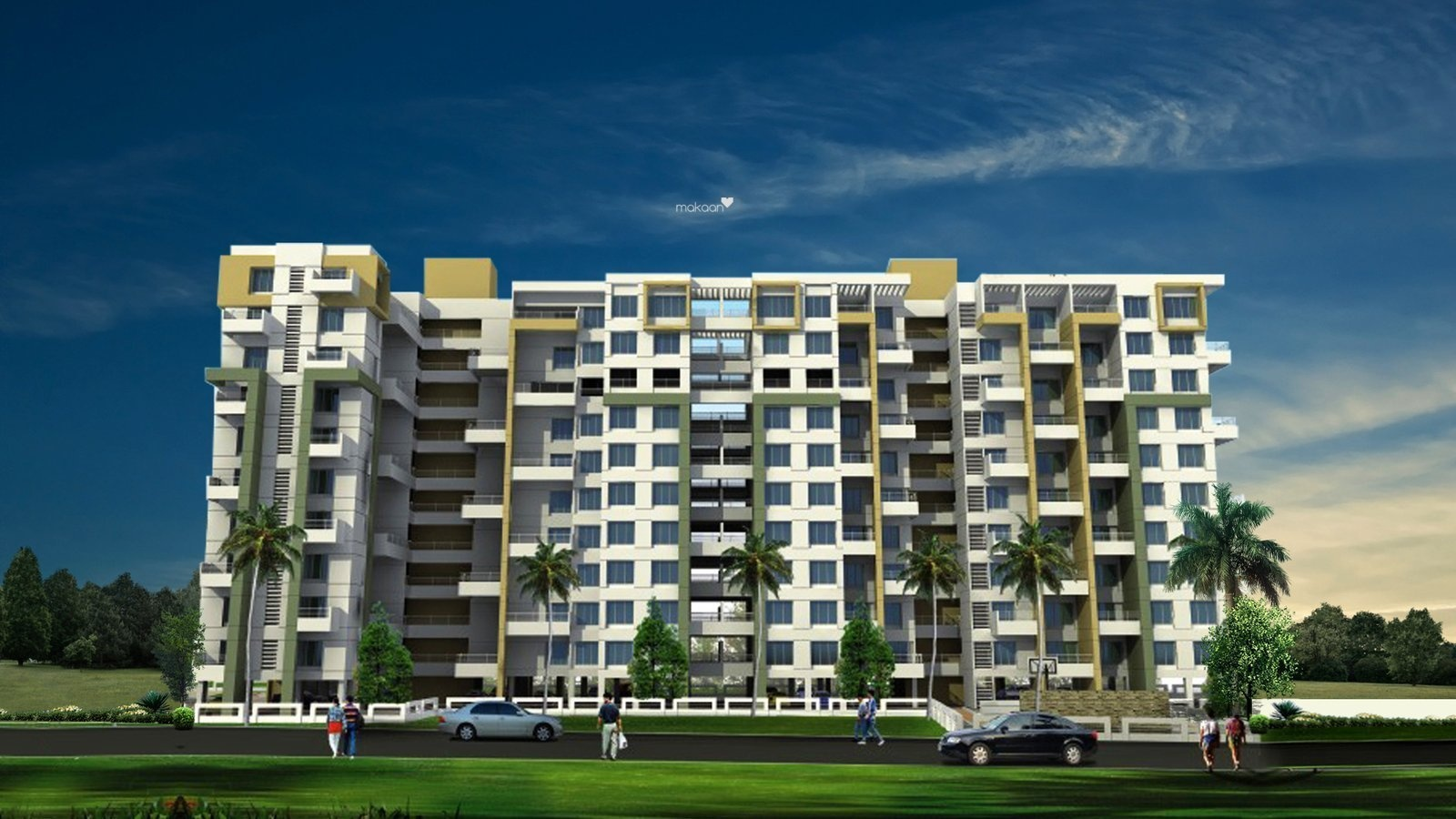 1120 sq ft 2BHK 2BHK+2T (1,120 sq ft) Property By Raviraj Real Estate In Albacitta, Baner