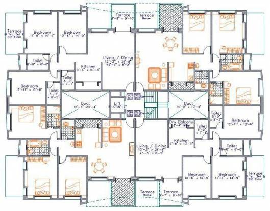 Nirmiti Nirmity Gracia Cluster Plan