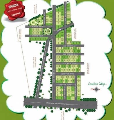 Anugraha Green Acres Site Plan