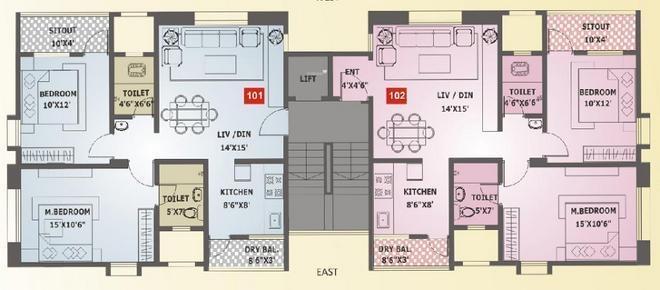 Sanjeevani Ashtagandh III Cluster Plan