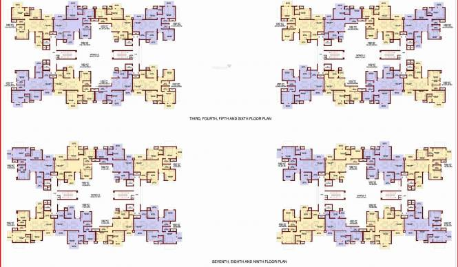 Genesis Eco Sphere Cluster Plan