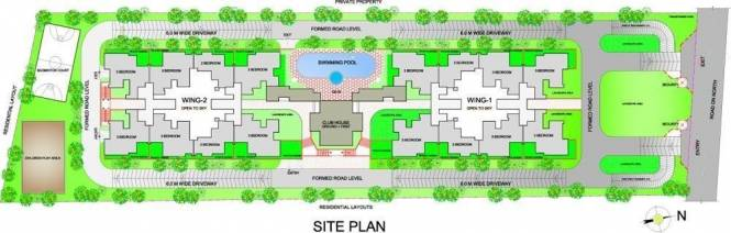 Genesis Eco Sphere Site Plan