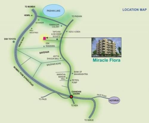 Reputed Miracle Flora Location Plan