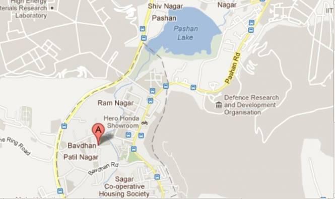 BramhaCorp Nancy Brahma Residency Location Plan