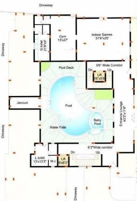 Pavani Parkwest Layout Plan