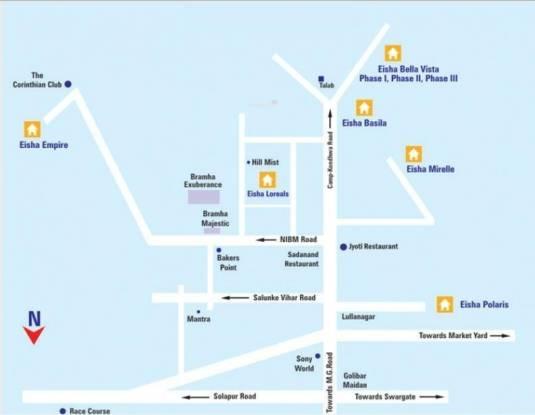 Eisha Empire Location Plan