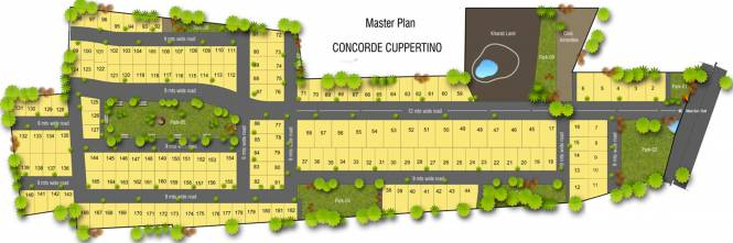 Concorde Cuppertino Master Plan
