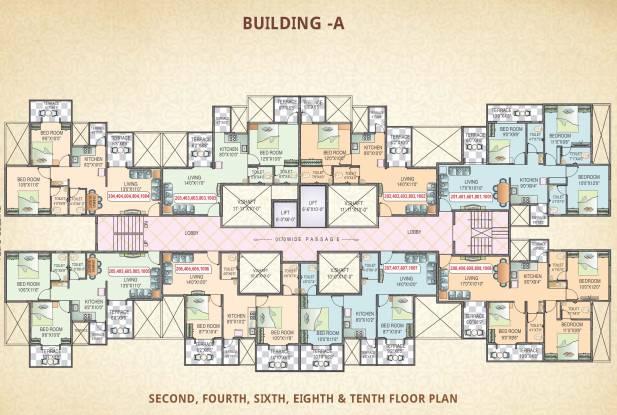 Polite Panorama Cluster Plan